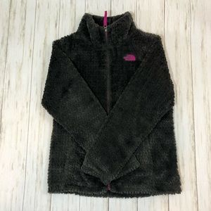 Girls North Face Fleece Jacket L